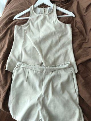 Baju set atasan bawahan top bottom wear romper jumpsuit