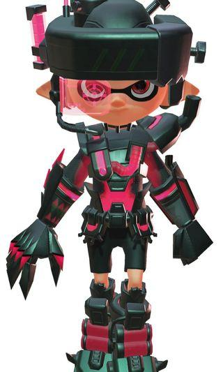 Splatoon 2 Mecha Gear set code (only limited to Japan version) Nintendo Switch
