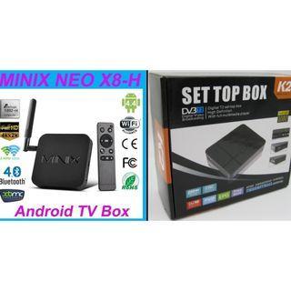 CHEAP! Minix 2GB RAM + 16GB eMMC Storage H.264 4K Android TV Box + NEW DVB-T2 Digital TV Receiver STB - LESS THAN $50!
