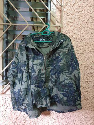 Plus size Korean jacket coat with hoodie