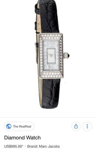 Marc Jacobs Diamond watch