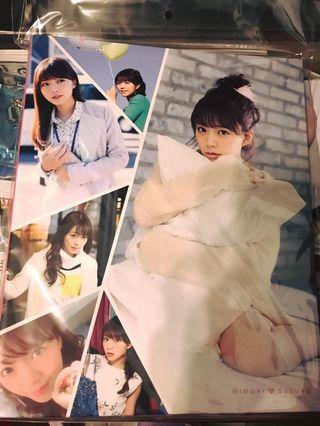 三森鈴子 三森すずこ Card collection卡簿連拍攝花絮DVD 全新 Love Live