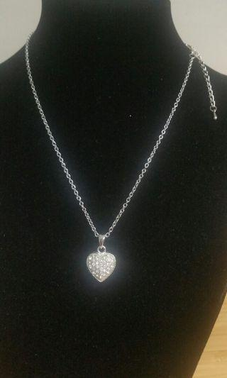 🚚 Crystal heart Necklace #ENDGAMEyour EXCESS