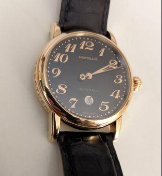 Montblanc Meisterstuck 男裝18K金手錶. Montblanc Meisterstuck 18K gold men's watch.