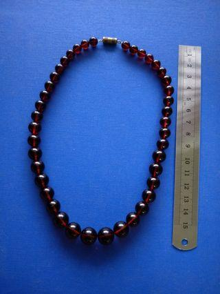 Vintage Press Natural Red Baltic Amber .(Dragon Blood) 红琥珀