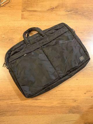 Head Porter X Bathing Ape Briefcase laptop bag 手提電腦兩用公事包