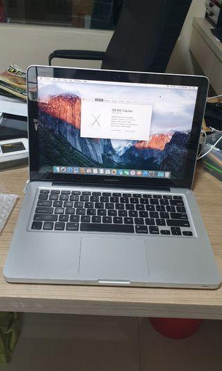 """#10 MacBook Pro 13"""" mid 2009 4GB 320GB"""