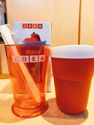 🚚 IDEA 冰沙杯 附挖棒 網路售價899 定價 690