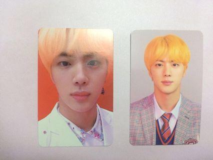 BTS Bangtan Jin Love Yourself Answer photocard E, L Version KPOP