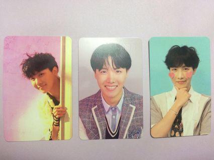 BTS Bangtan Love Yourself Answer J-Hope photocard S, L, F Version