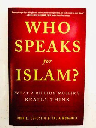 🚚 Who Speaks For Islam?