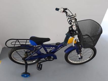 Children Bicycle and Kick Scooter