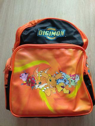 🚚 Digimon kids bag