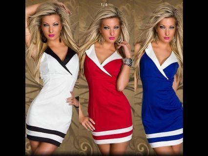 Sailor Sexy Backless Mini Dress ( Preorder)second item half price