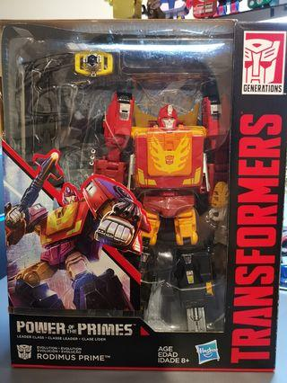 Powe of the Primes - Rodimus Prime