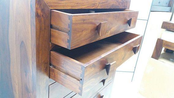 原生木雜物櫃
