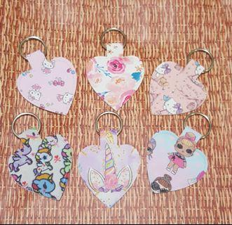 Handmade PU keychain