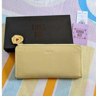🚚 Anna Sui Long Wallet Purse Yellow