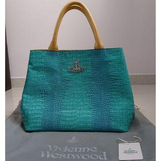 Vivienne Westwood Calf Leather Devon Tote Bag Japan Edition