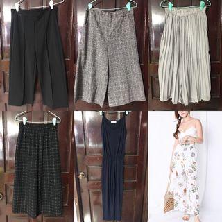 $10 AND BELOW! CULOTTES AND JEANS CLEARANCE!