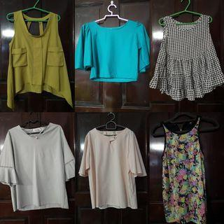 $4 AND BELOW! TOPS AND BLOUSES CLEARANCE!