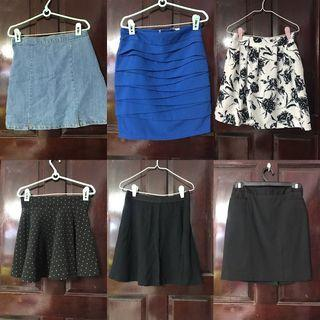 $5 AND BELOW! SHORTS AND SKIRTS CLEARANCE!
