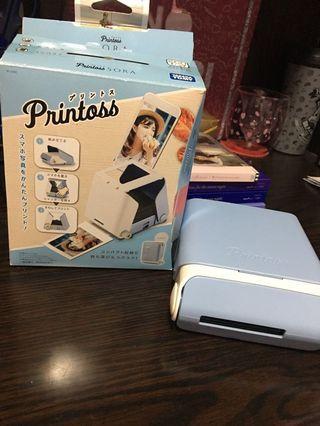 Printoss曬相機 天藍色