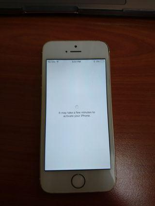 Iphone 5s spare part apple id lock