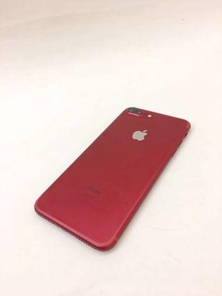 iPhone 7plus Red 128G(PRODUCT )RED second hand
