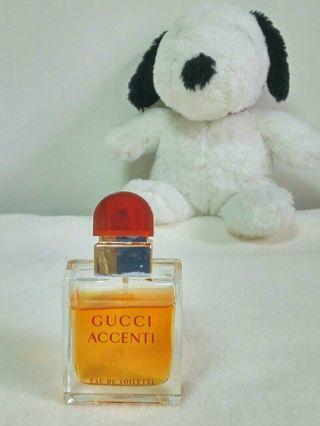 🚚 可收藏【Gucci】Accenti忘情巴黎女性淡香水 (原30ml)
