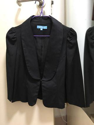 Simple 女裝黑色外套