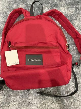 BNWT Calvin Klein bag pack