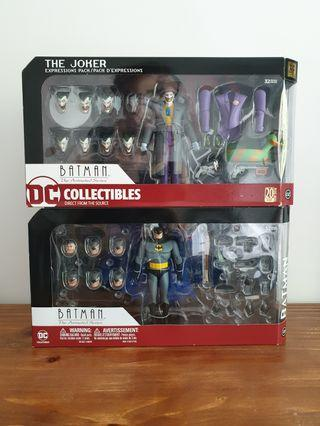 Dc Animated Series Batman Joker Expression Pack