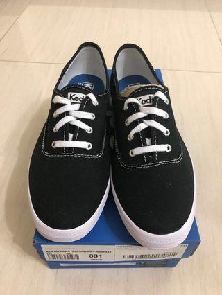 🚚 Keds Champion Original Canvas Black Shoes