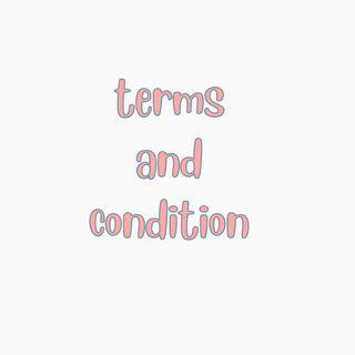 terms and condition t&cs