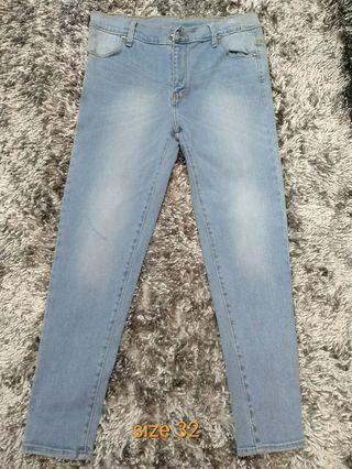Celana jeans polos