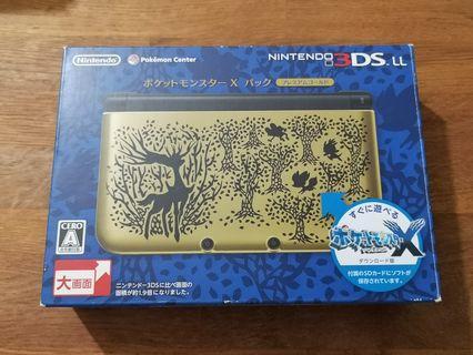 3DS LL pokemon center X版 NINTENDO