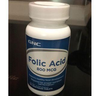 GNC Folic Acid 葉酸 800MCG