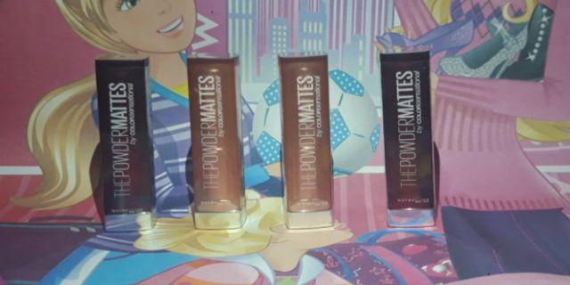 Lipstik maybelline powdermattes