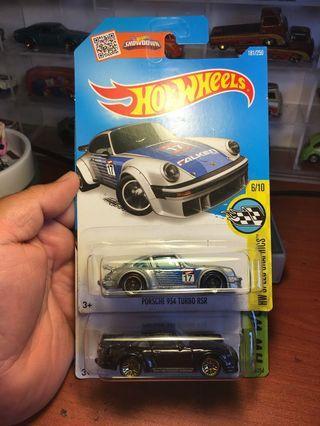 Hotwheels Porsche lot