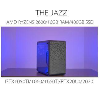 AMD RYZEN5 2600 ADVANCE GAMING CUSTOM DESKTOP PC WITH GTX1050TI/1060/1660TI/RTX2060/2070(BUILD TO ORDER)