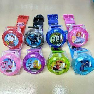 Jam tangan anak digital LED Music - kado anak