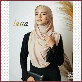 Luna Instant Shawl Hijab Tudung Muslimah