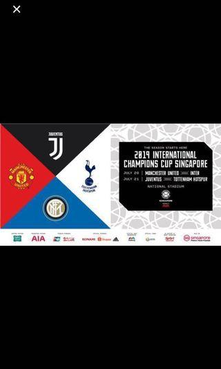 Manchester United vs Inter Milan ICC 2019