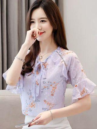 Brand New Woman Top Blouse  S,M,L,XL,XXL  Self pick up Sai Ying Pun MTR or Add postage Interest buyers, please pm directly