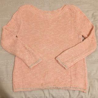 🚚 zara穿過一次粉粉的毛衣