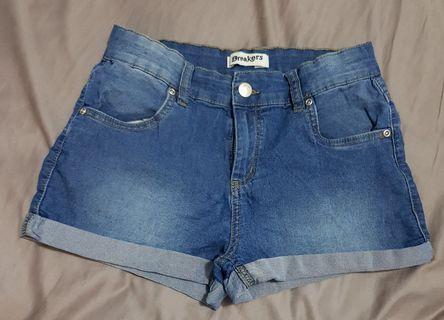 Girls size 16 denim shorts