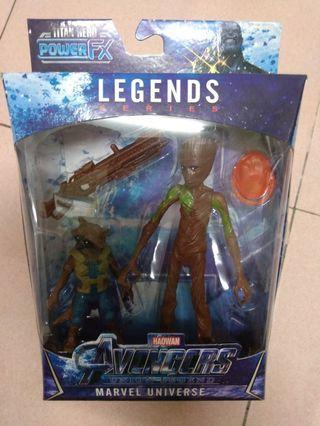 Groot & Rocket (6 inch)