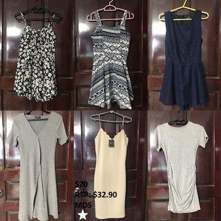 $8 AND BELOW! DRESSES CLEARANCE LISTING 2!