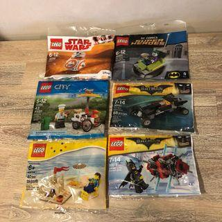 MISB Lego Polybags (various types)